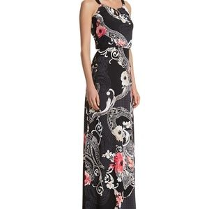 White House Black Market Floral Maxi Dress